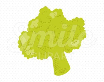 BROCCOLI Clipart Illustration for Commercial Use | 0073