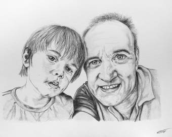 Personal portrait - Father and son example