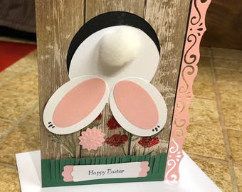Happy Easter, Easter bunny, cute Easter greeting card, Dawns BlanchCards