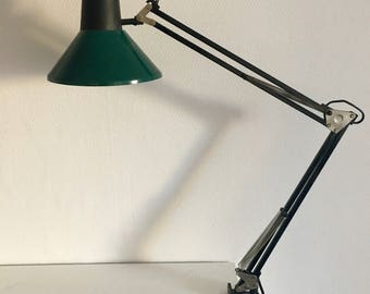 Architect lamp with Massive pin vintage on 1970