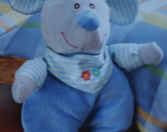 "cuddly stuff ""mouse Tinky"" blue"