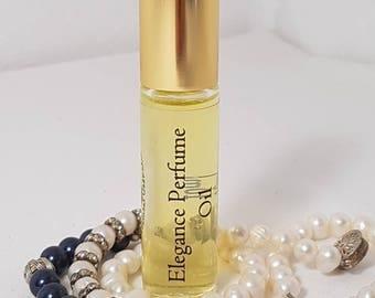 ELEGANCE Roll-On perfume, Perfume Oil 10ml, Vegan, natural, Alcohol Free, Dupe