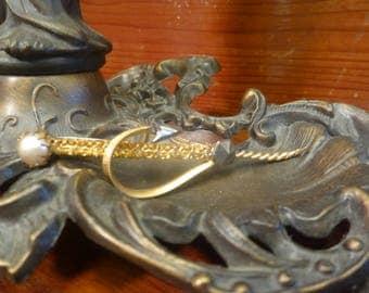Victorian Sword Brooch