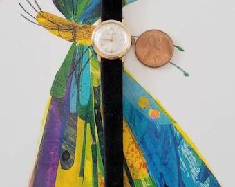 Vintage Duward Lady's wrist watch mechanical hand wined  Goldfield 1960 s