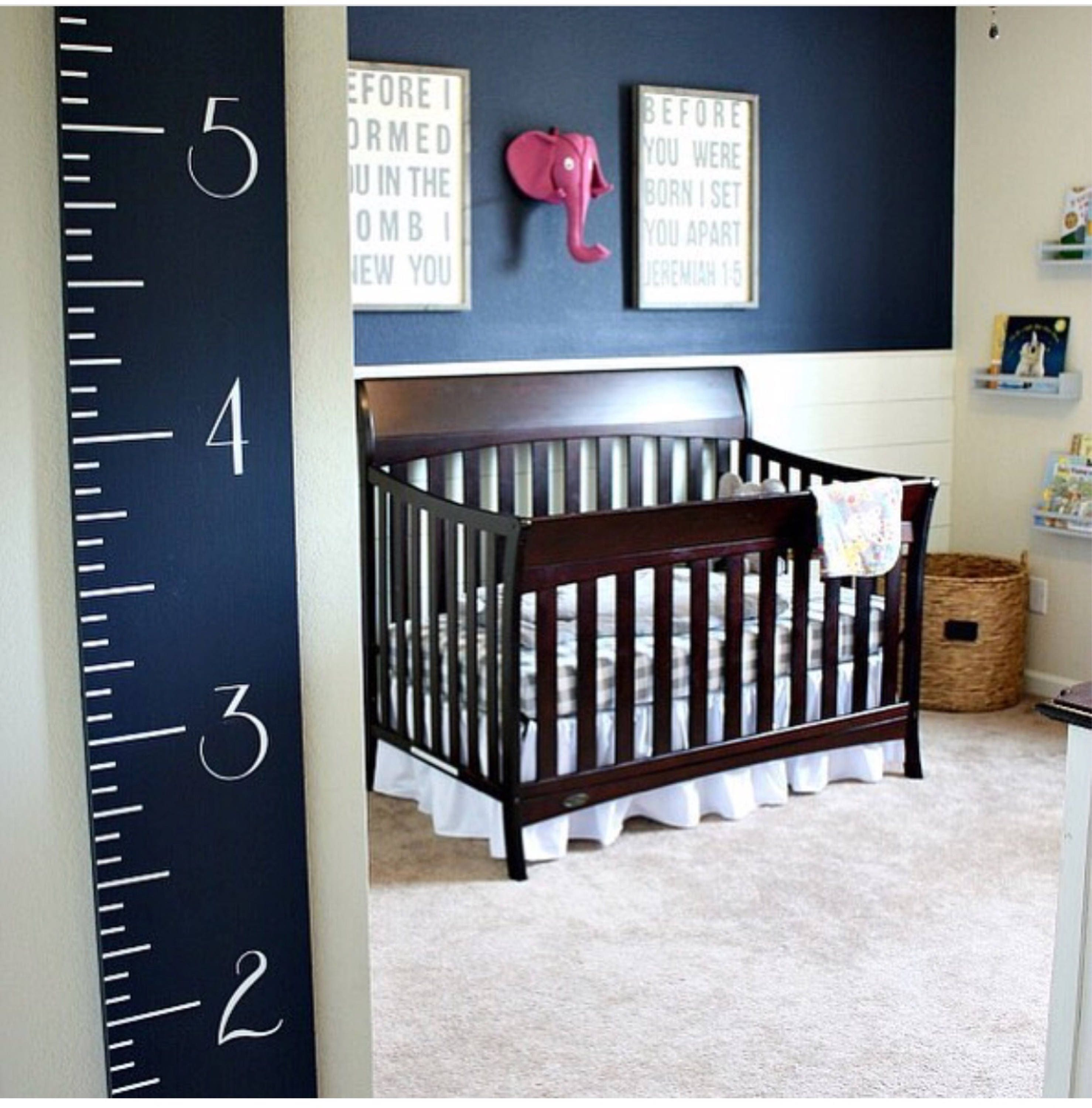 Navy growth chart wooden ruler height chart nursery baby navy growth chart wooden ruler height chart nursery baby shower gift geenschuldenfo Choice Image