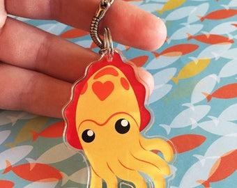 Let's Cuttle Keychain
