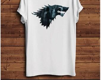 Game of Thrones Wolf Stark T Shirt