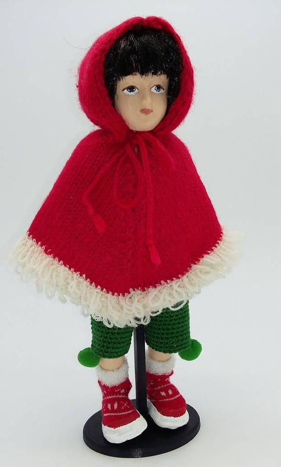 Christmas suit for Ball Jointed Zisa doll