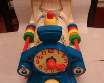 Vintage Toot Toot Activity Train