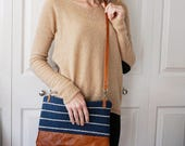 Hand Woven Leather Zipper pouches
