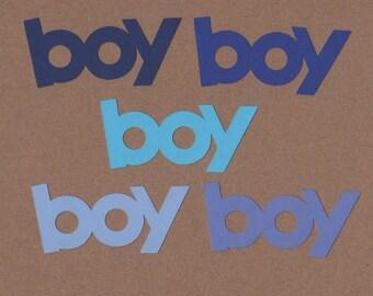10 Boy  Die Cuts for Paper Crafts Cape Cod Colors Set #5552