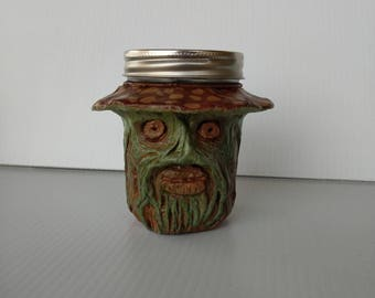 Mushroom Man Stash Jar