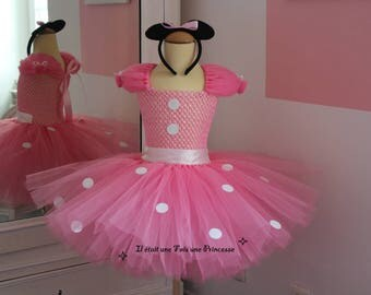Minnie inspired child tutu dress