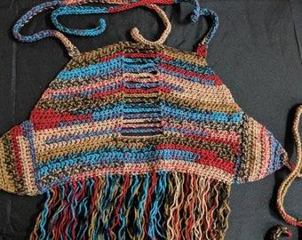 Strappy Crochet Crop Top