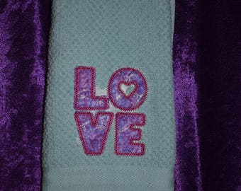 Love terry cloth towel