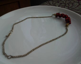 Tangled Kumihimo Necklace - Stephanie