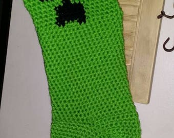 Minecraft creeper stocking