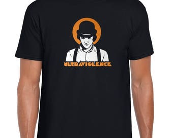 Ultraviolence - Clockwork Orange | Stanley Kubrick | Burgess | Dystopia | Cult | Classic | Retro | Fan Made | T Shirt