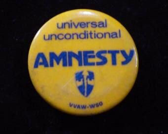 Amnesty Pinback
