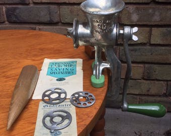 Pre war Spong Mincer model 90