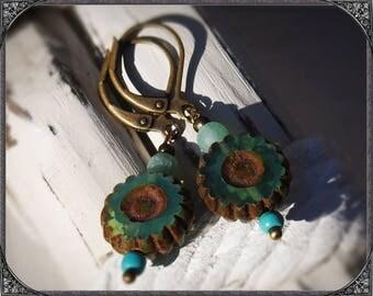 Ocean green Earrings
