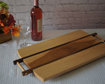 CB06 - Custom-Made Cutting Board/Serving Tray 10x20  MAPLE