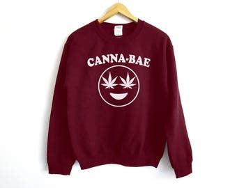 Cannabae Sweater | Weed Lover Sweater | Funny Stoner Sweater | Weed Sweater | 420 Sweater | Cannabis Sweater | 420 Gift | Weed Lover Gift