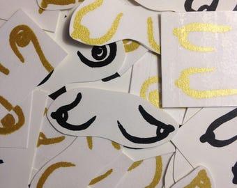 Boob Stickers