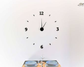 Charming | damuro (your wall clock kit) - Large 3D embossed wall clock, customizable