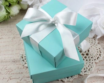 Tiffany party favor wedding baby shower party retirement