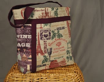 Tote Bag - Wine Goes With Everything