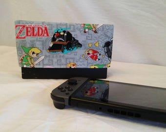 Zelda Nintendo Switch Dock Cover / Zelda / Screen Protector / Nintendo Accessories / Electronic Accessories / Zelda Accessories
