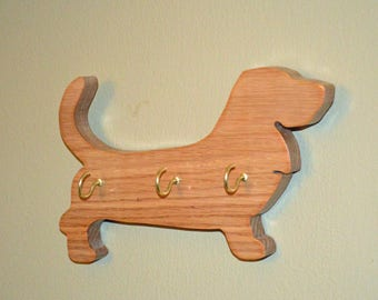 Basset Hound Key Holder