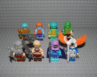 8 Miniature characters He-man masters of the universe, new
