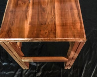 Black Cherry coffee table and end table set