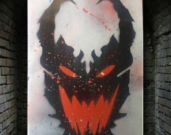 Anti Venom Spray Painting!