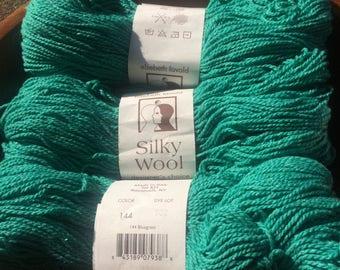 Silky Wool Yarn by Elsebeth Lavold