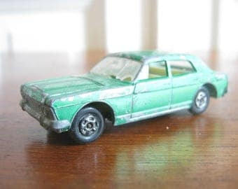 """Matchbox car from the 70s, Model No. 53 """"Ford Zodiac"""""""