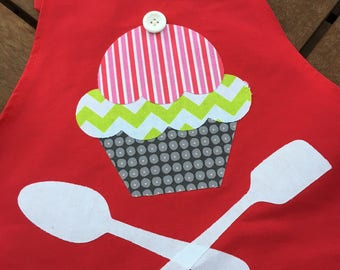 Learn to Scan'n Cut Kit - Applique Cupcake Apron