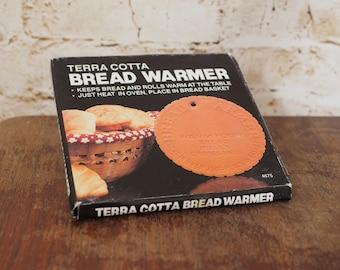 1980's USA Terra Cotta Bread Warmer