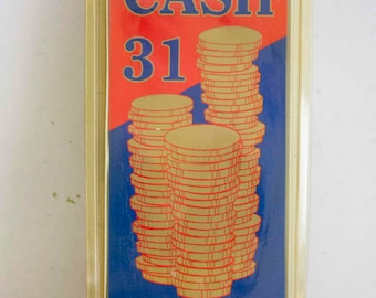 Cash 31 - The Card Game - Senior Size Numbers