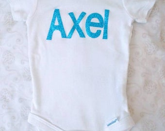 Boy Onesie Personalized with Name