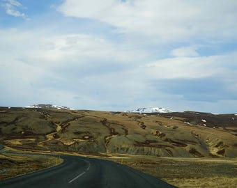 "Fine Art Iceland Landscape Photography Wall Decor 4""x6"" prints | Green Hills Iceland"