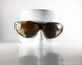 JIL SANDER Vintage Sunglasses Tortoise Cat Eye 2000 JILS8O-1