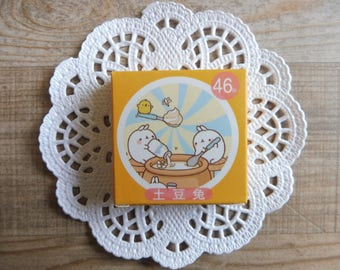 Stickers 46 piece set in assorted designs Molang number (23)