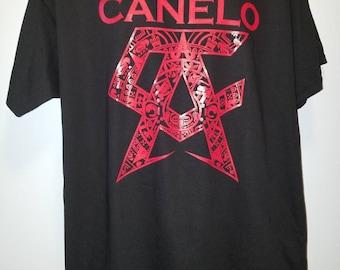 Canelo T Shirts - Canelo VS Triple G T Shirt -  Team Canelo T-shirt - 2017 - Canelo Alvarez Logo - New