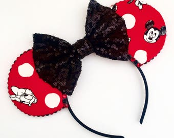 The Originals - Handmade Mouse Ears Headband