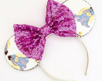 The Gloomy Donkey - Handmade Mouse Ears Headband