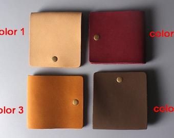Mens wallet Mens leather wallet Groomsmen gift Bifold wallet Slim wallet  Leather Billfold Wallet