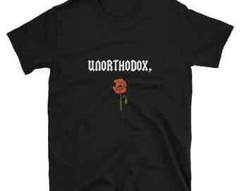 flower t-shirt 100% cotton